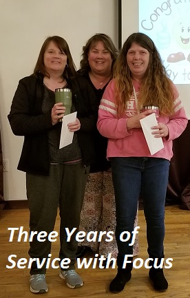 3 Years of Service March 2019